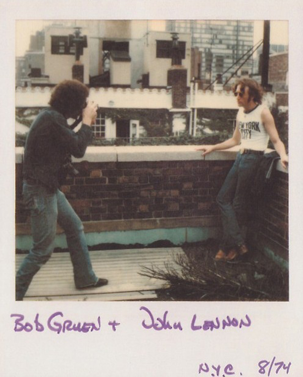 John Lennon New York City Shirt Photo Session Bob Gruen 1974