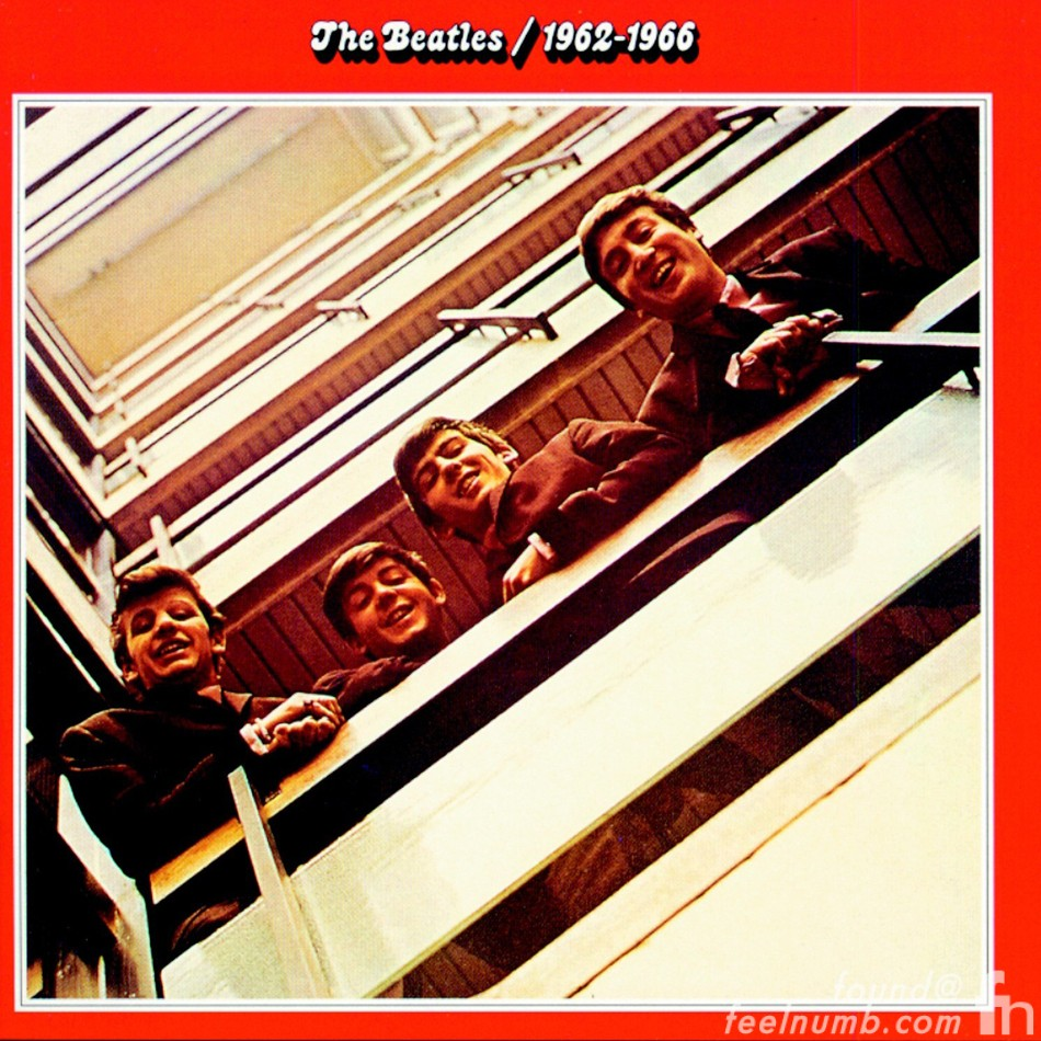 The Beatles Red Album EMI Stairwell Location