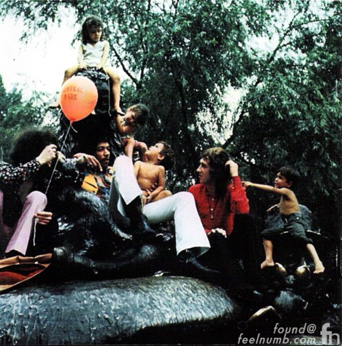 Jimi Hendrix Electric Ladyland New York Central Park Photo Children Linda McCartney