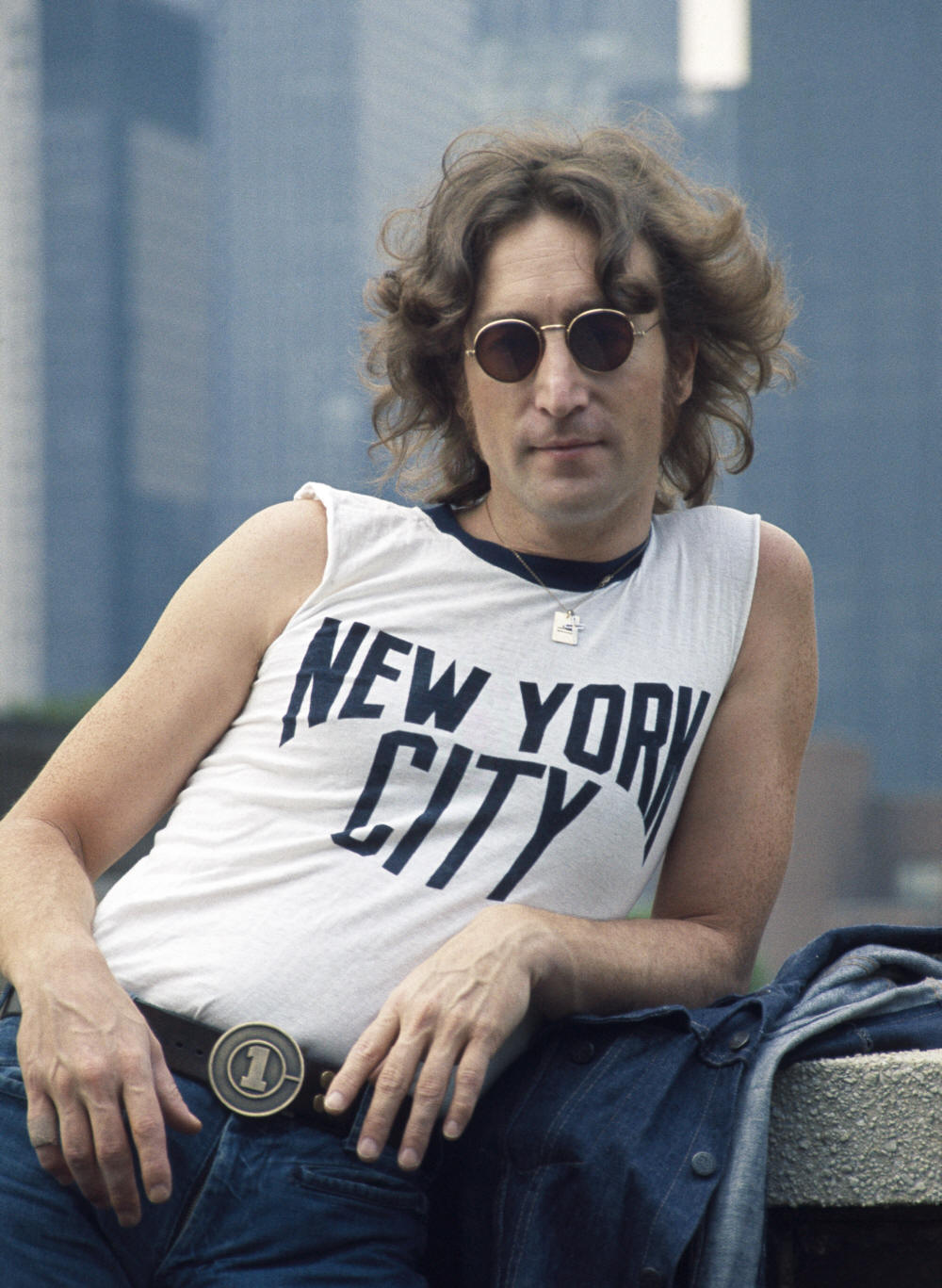 John Lennon Bob Gruen New York City Shirt Location New York
