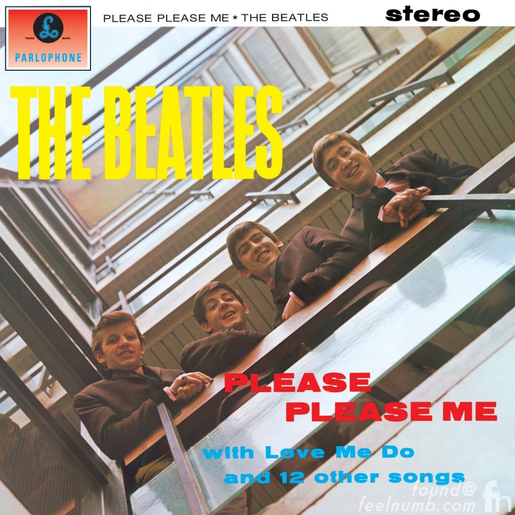 The Beatles Please Please Me Get Back Album Cover EMI House