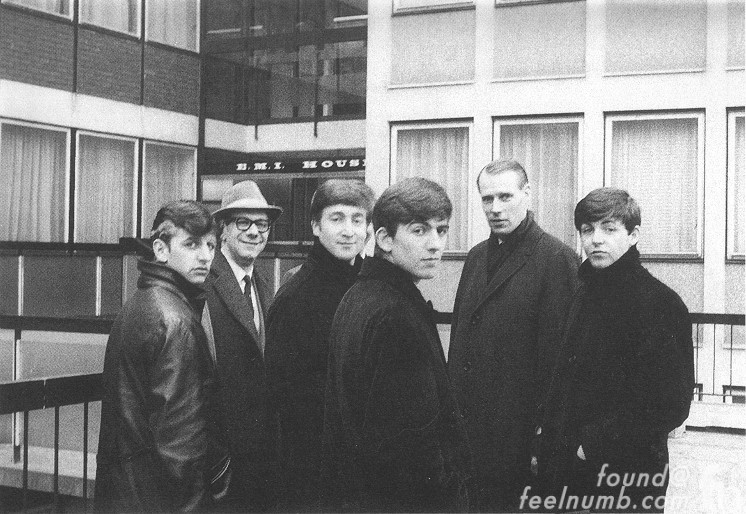 The Beatles 1963 EMI House Please Please Me Photo