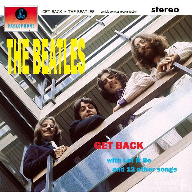 The Beatles Get Back Single Please Please Me EMI House Balcony Photo