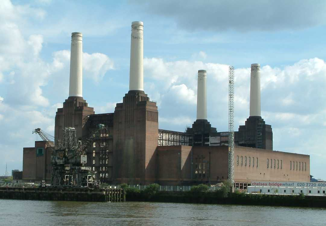 Battersea Power Station Pink Floyd Animals Pig