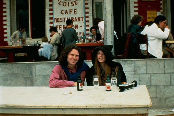 Jim Morrison Last Photo June 28, 1971 Pam Courson