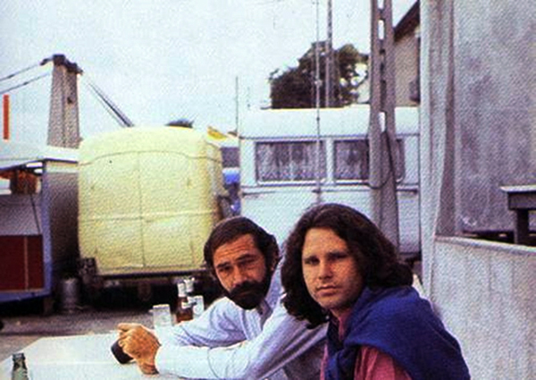 Jim Morrison Alain Ronay Last Photos Paris June 28, 1971