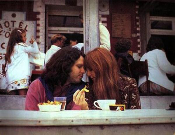Last Photos of Jim Morrison Paris France June 28, 1971 Pam Courson