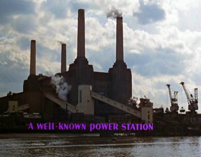 The Beatles Help! Battersea Power Station Pink Flp