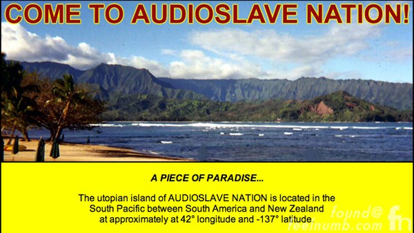 Audioslave Nation Utopia Island Revelations