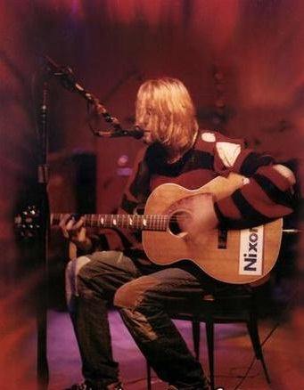 Kurt Cobain Nixon Now Acoustic Guitar Nirvana