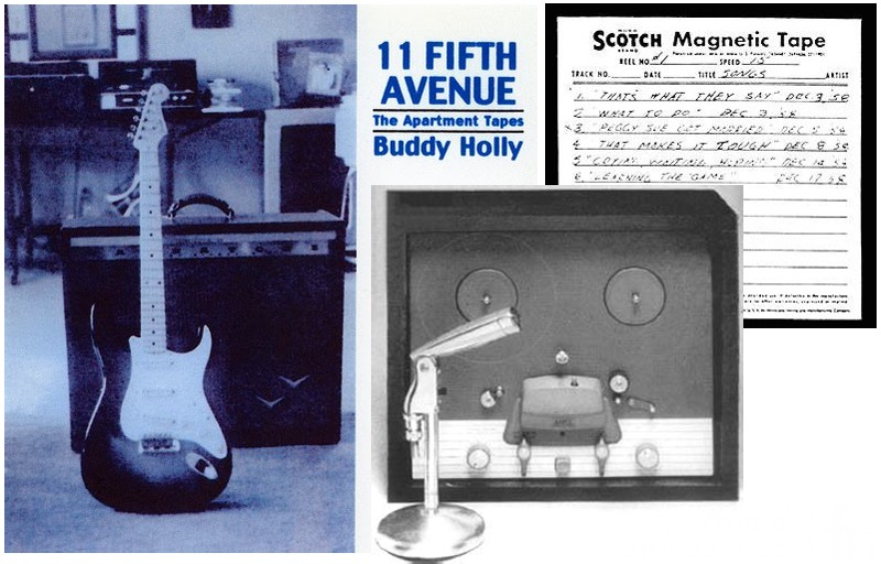 Buddy Holly Apartment Tapes 11 Fifth Avenue New York