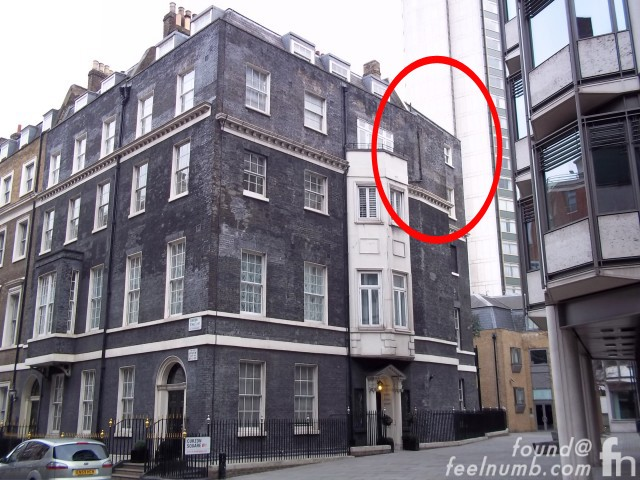 Keith Moon Death Location 9 Curzon Place flat 12 Mayfair, London The Who