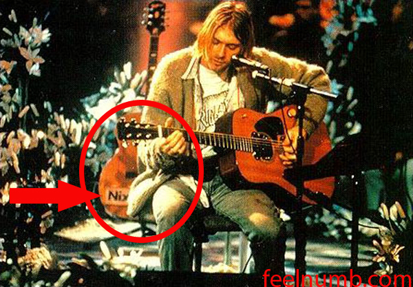 Kurt Cobain Nixon Now Guitar MTV Unplugged Acoustic