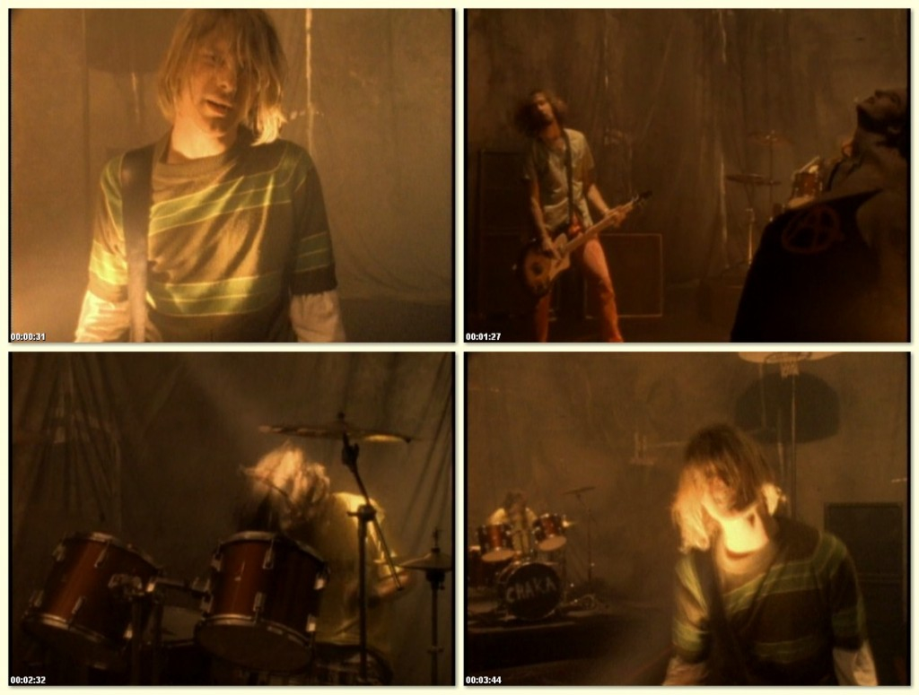 Nirvana Smells Like Teen Spirit Video Shoot GMT Studios