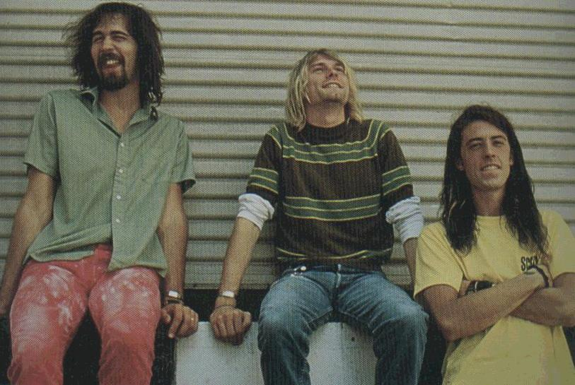 Nirvana Smells Like Teen Spirit Video Shoot