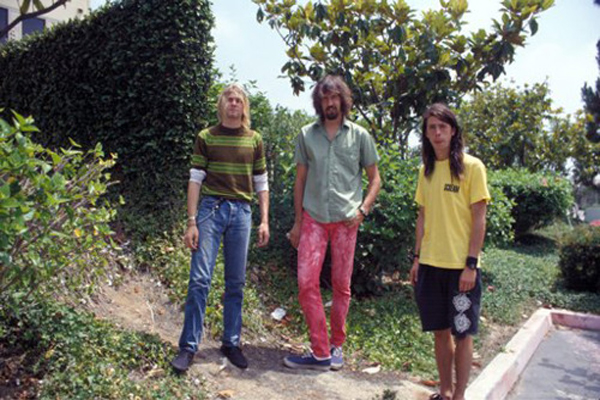 Nirvana Smells Like Teen Spirit Video Shoot Nirvana 1991