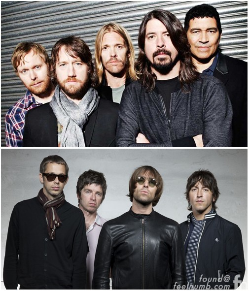 Foo Fighters Love Oasis
