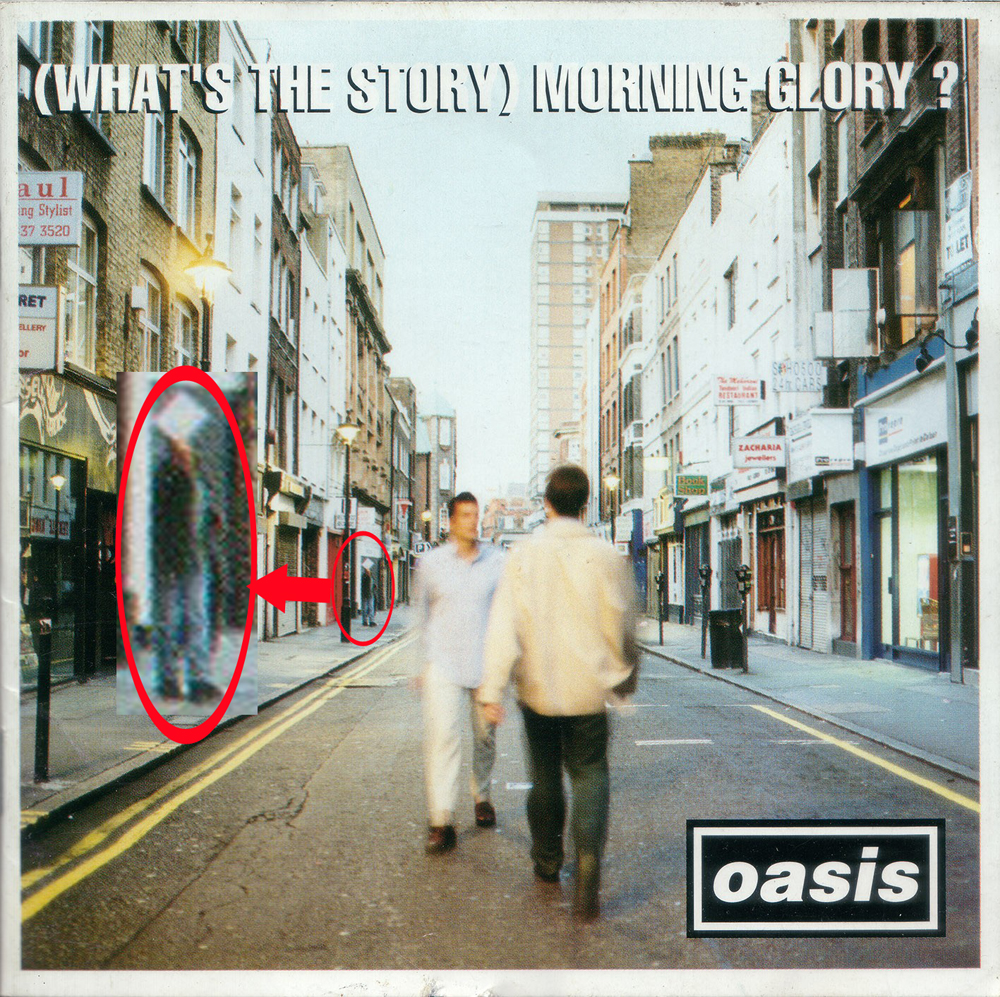 Oasis What's The Story Morning Glory Album Cover Owen Morris Berwick Street