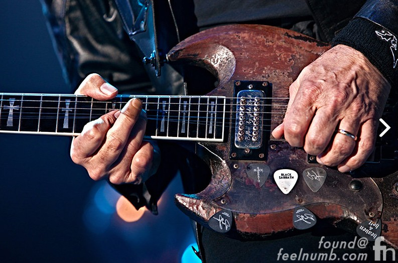 Tony Iommi Plastic Fingertips Finger Accident