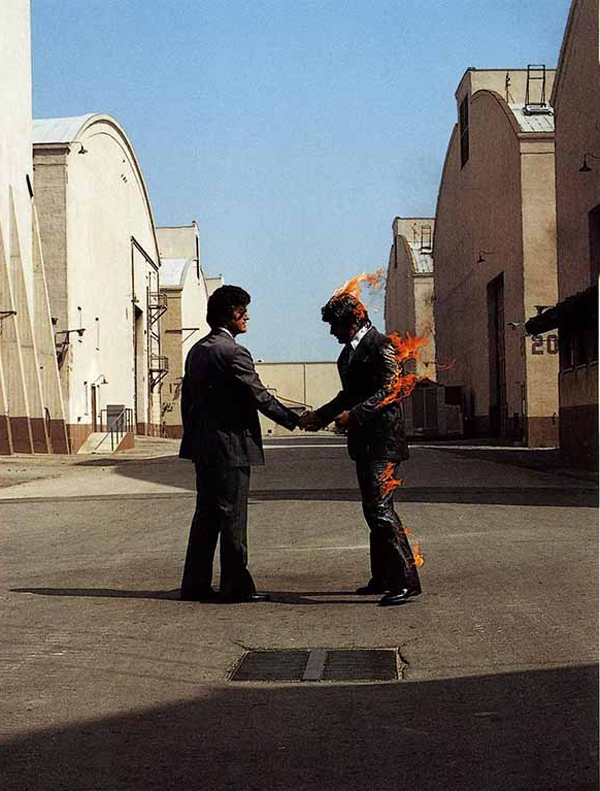 wish you were here pink floyd photo location warner bros studios lot burbank california