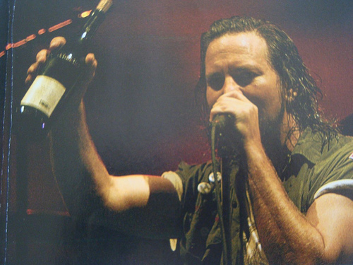 Eddie Vedder Pearl Jam Barolo Red Wine