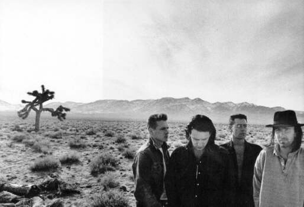 U2 The Joshua Tree Photo Location Death Valley 1986