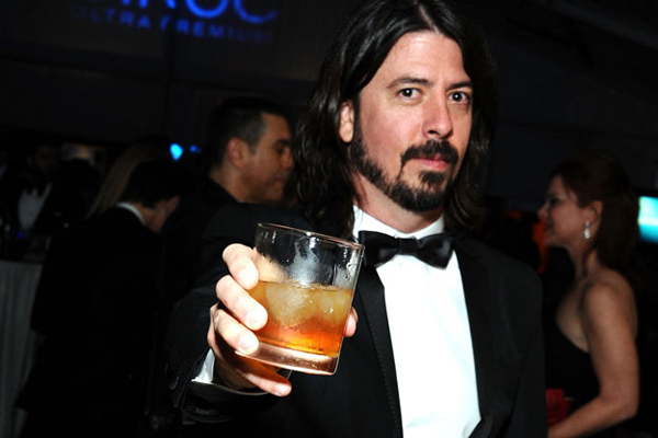 Dave Grohl Crown Royal Canadian Whiskey