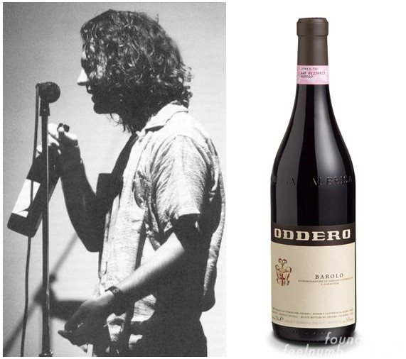 Eddie Vedder Pearl Jam Red Wine Barolo