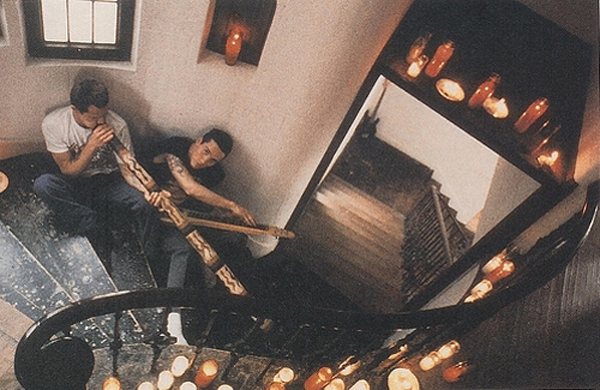 John Frusciante Flea Red Hot Chili Peppers Rick Rubin Mansion studio Laurel Canyon