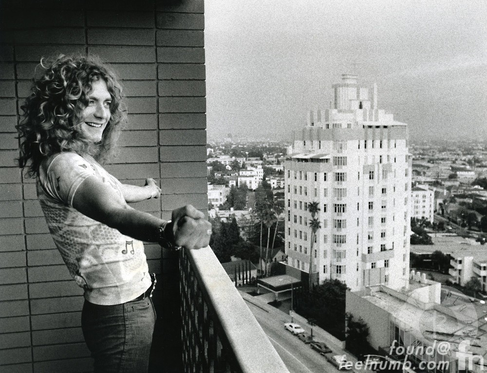 Robert Plant Led Zeppelin Golden God Hyatt Riot House Sunset Strip
