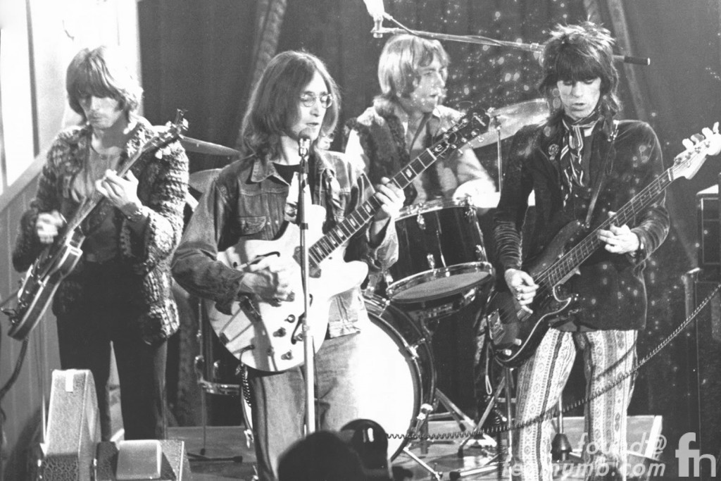 The Dirty Mac John Lennon Keith Richards Mitch Mitchell Eric Clapton