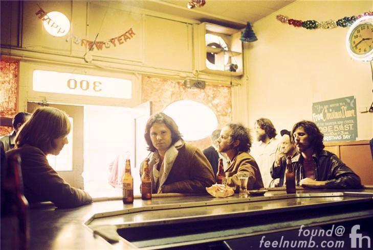 The Doors Hard Rock Cafe Morrison Hotel Bar Photo Jim Morrison
