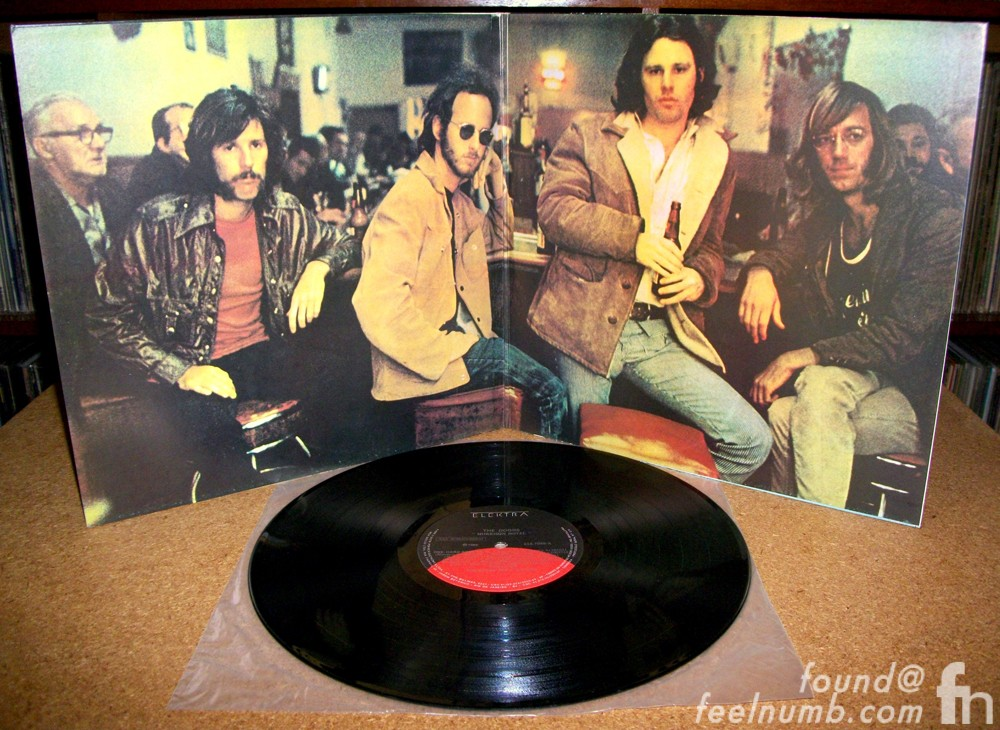 The Doors Morrison Hotel Hard Rock Cafe Vinyl Photo