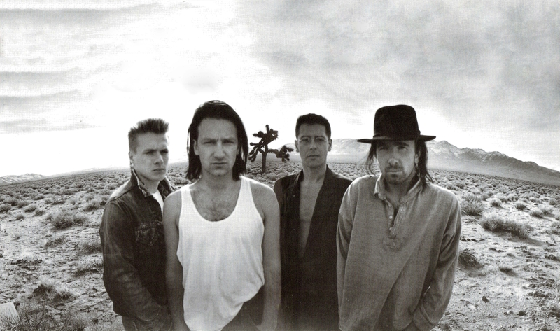 U2 The Joshua Tree Death Valley 1986 Photo