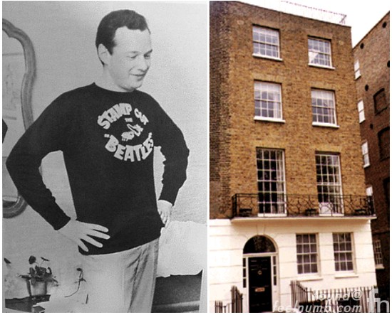 Brian Epstein The Beatles Chapel Street Death Location