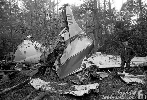 Lynyrd Skynyrd Airplane Crash 1977 Convair 240 N55VM misissippi