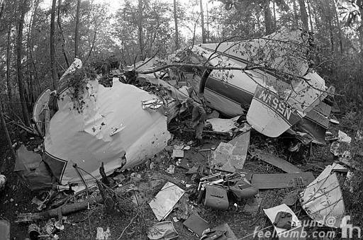 Lynyrd Skynyrd Airplane Crash Convair 240 Crash Mississippi