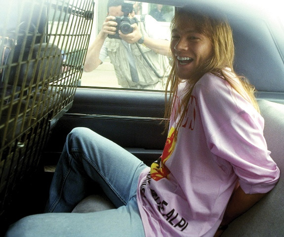 Axl Rose Arrest St. Louis Missouri Riverport Riot