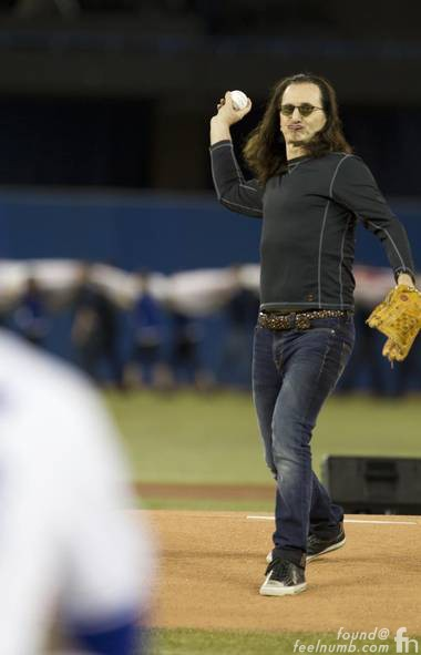 Geddy Lee Rush Baseball Fan Toronto Blue Jays