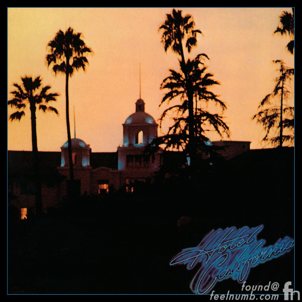 Hotel California The Eagles Beverly Hills Hotel Dorchester Collection Album Cover
