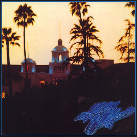"The cover of The Eagles ""Hotel California"""