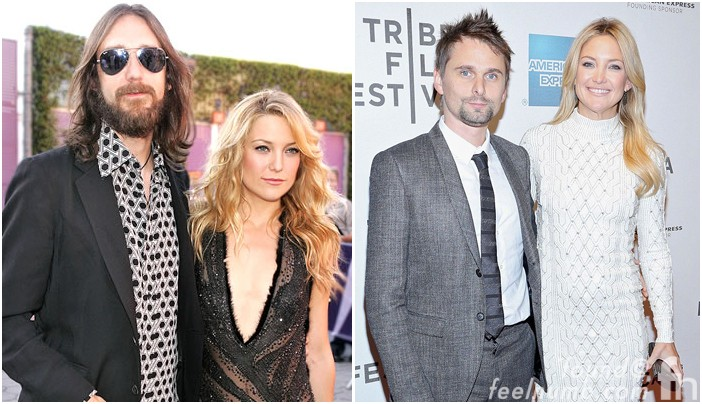 Kate Hudson Baby Daddy's Muse Black Crowes Chris Robinson Matthew Bellamy
