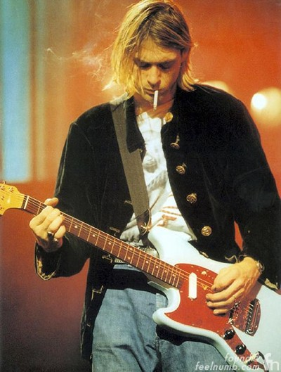 Kurt Cobain Buck O'Train Nirvana