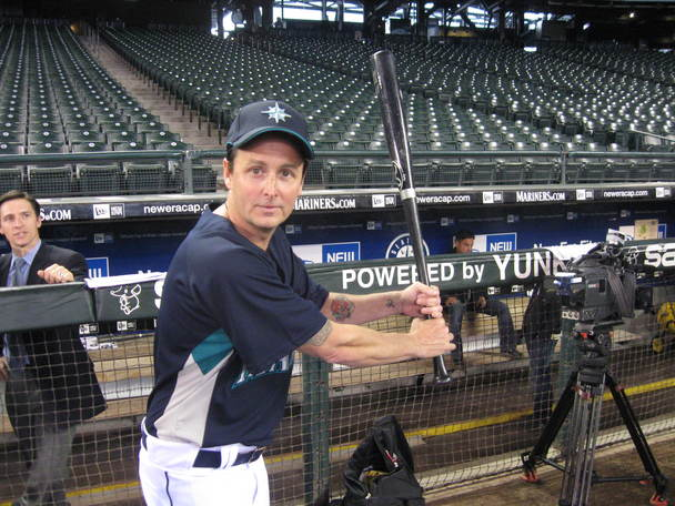 Mike McCready Pearl Jam Seattle Mariners Baseball