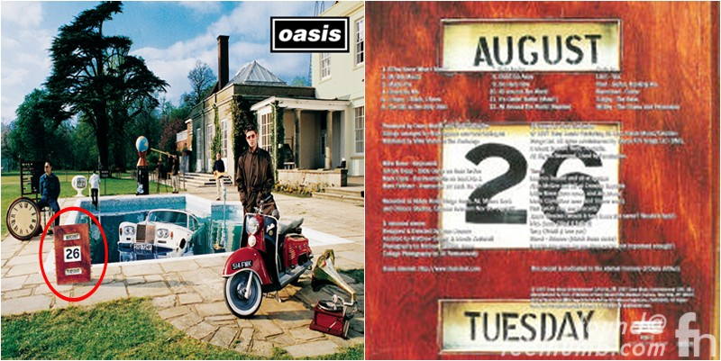 Oasis Be Here Now August 26 Date Album Cover Photo