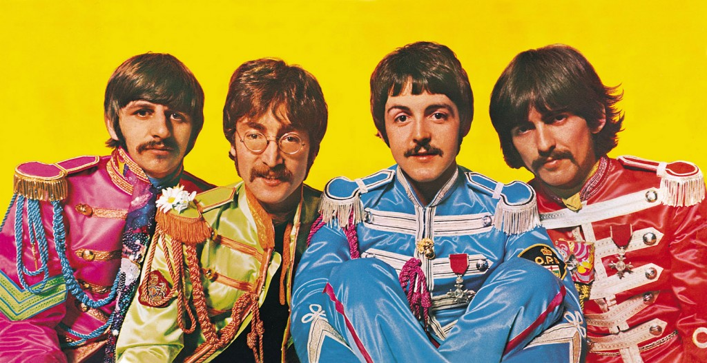 The Beatles Sgt. Pepper Gatefold Sleeve OPD Patch Paul McCartney