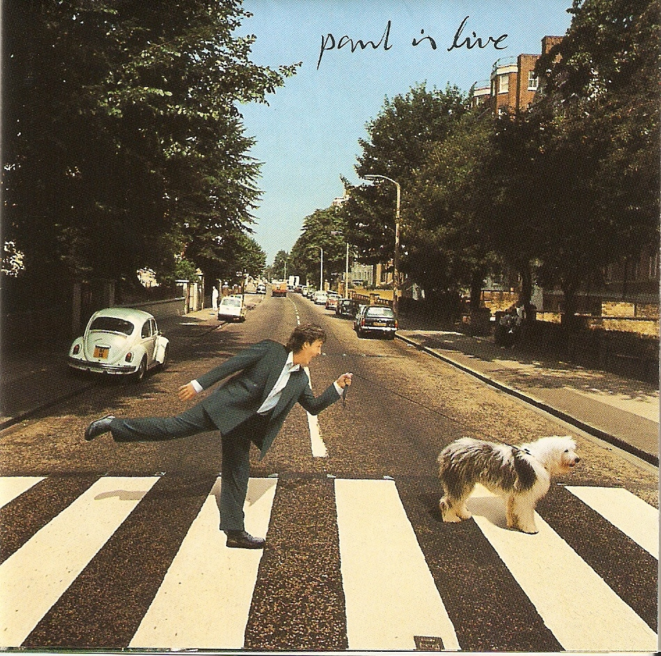 Paul Is Live McCartney Dog Martha Arrow
