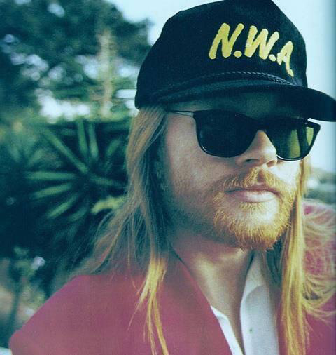 N.W.A. Hat Axl Rose Guns N Roses