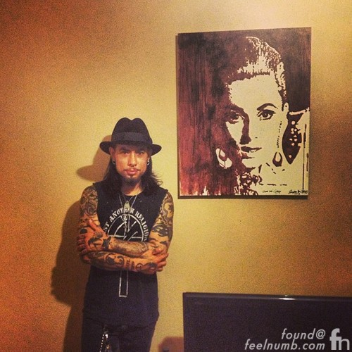 Dave Navarro Mother Murder Constance Painting