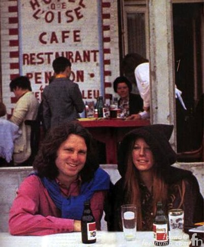Jim Morrison Last Photo Alive